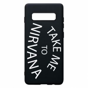 Etui na Samsung S10+ Take me to nirvana