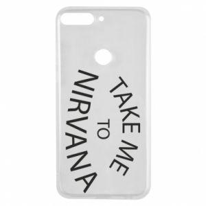Etui na Huawei Y7 Prime 2018 Take me to nirvana
