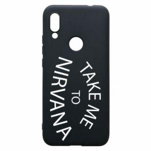 Etui na Xiaomi Redmi 7 Take me to nirvana