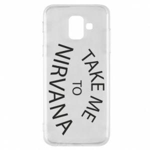 Etui na Samsung A6 2018 Take me to nirvana