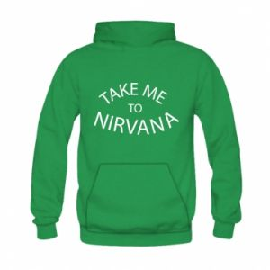Bluza z kapturem dziecięca Take me to nirvana