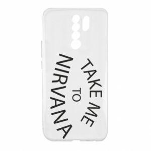 Etui na Xiaomi Redmi 9 Take me to nirvana