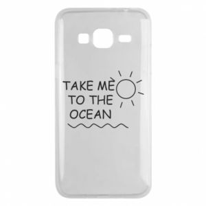 Etui na Samsung J3 2016 Take me to the ocean