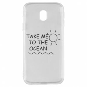 Etui na Samsung J3 2017 Take me to the ocean