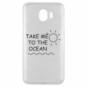 Etui na Samsung J4 Take me to the ocean