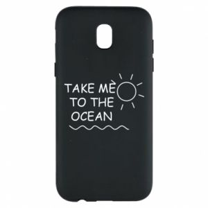 Etui na Samsung J5 2017 Take me to the ocean