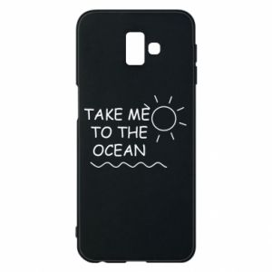 Etui na Samsung J6 Plus 2018 Take me to the ocean