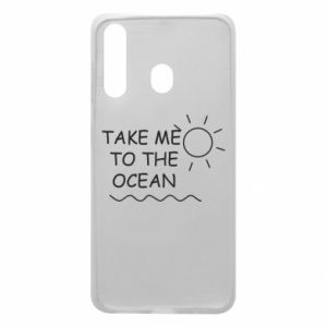 Etui na Samsung A60 Take me to the ocean