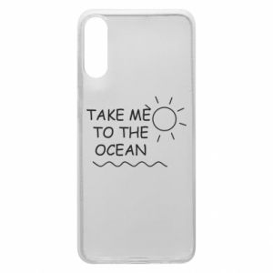Etui na Samsung A70 Take me to the ocean