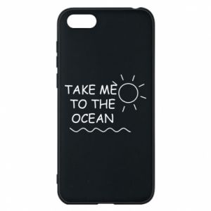 Etui na Huawei Y5 2018 Take me to the ocean