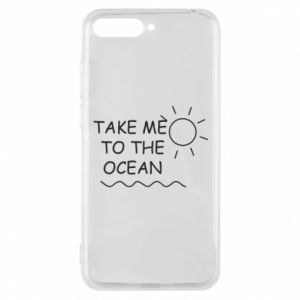 Etui na Huawei Y6 2018 Take me to the ocean