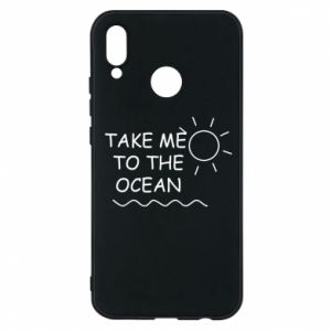 Etui na Huawei P20 Lite Take me to the ocean