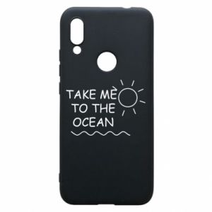 Etui na Xiaomi Redmi 7 Take me to the ocean