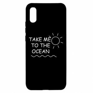 Etui na Xiaomi Redmi 9a Take me to the ocean