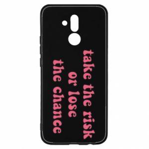 Etui na Huawei Mate 20 Lite Take the risk or lose the chance