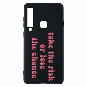 Etui na Samsung A9 2018 Take the risk or lose the chance