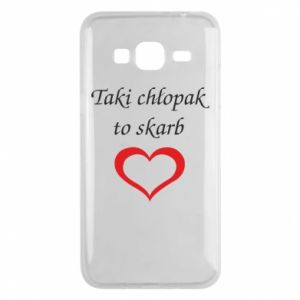 Phone case for Samsung J3 2016 That boy is a treasure - PrintSalon