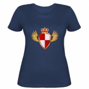 Koszulka damska Tarcza Polska