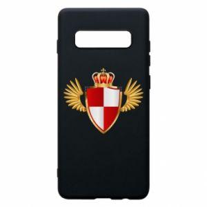 Etui na Samsung S10+ Tarcza Polska