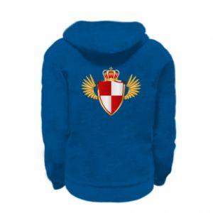 Bluza na zamek dziecięca Tarcza Polska