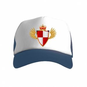 Kid's Trucker Hat Polish Shield
