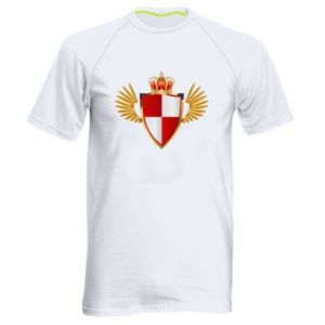 Koszulka sportowa męska Tarcza Polska
