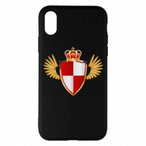 Etui na iPhone X/Xs Tarcza Polska