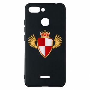 Etui na Xiaomi Redmi 6 Tarcza Polska