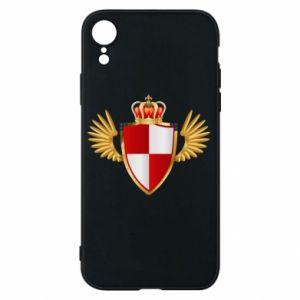 Etui na iPhone XR Tarcza Polska