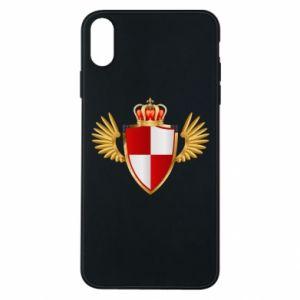 Etui na iPhone Xs Max Tarcza Polska