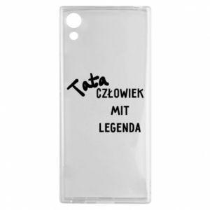 Etui na Sony Xperia XA1 Tata Człowiek Mit Legenda