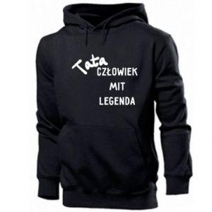 Men's hoodie Dad Man The legend