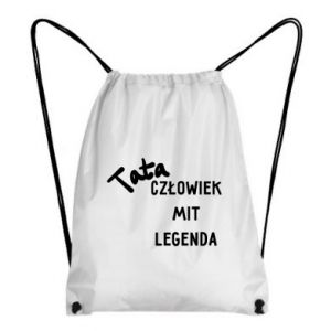Plecak-worek Tata Człowiek Mit Legenda