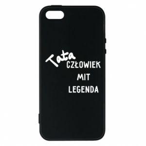 Etui na iPhone 5/5S/SE Tata Człowiek Mit Legenda