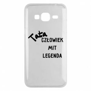 Etui na Samsung J3 2016 Tata Człowiek Mit Legenda