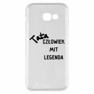 Etui na Samsung A5 2017 Tata Człowiek Mit Legenda