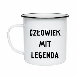 Enameled mug Man, Myth... - PrintSalon