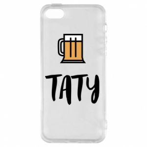 Phone case for iPhone 5/5S/SE Daddy and beer