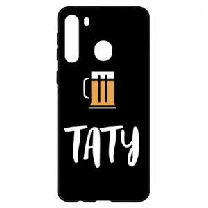 Etui na Samsung A21 Tata i piwo