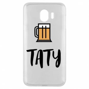 Phone case for Samsung J4 Daddy and beer