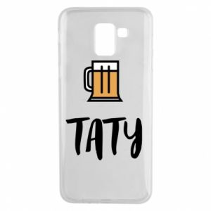 Phone case for Samsung J6 Daddy and beer