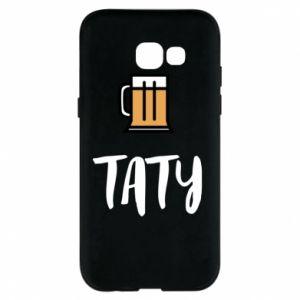 Etui na Samsung A5 2017 Tata i piwo
