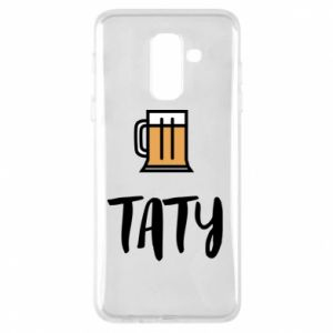 Phone case for Samsung A6+ 2018 Daddy and beer