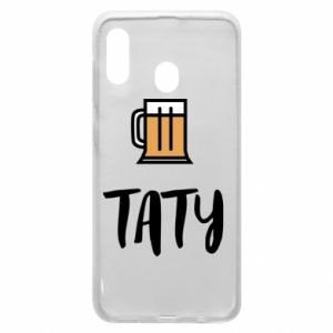 Phone case for Samsung A20 Daddy and beer
