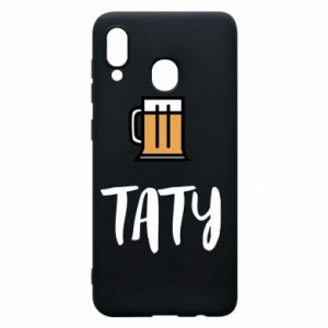 Phone case for Samsung A30 Daddy and beer