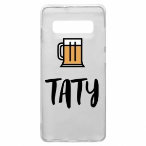 Phone case for Samsung S10+ Daddy and beer