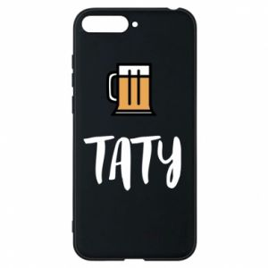 Phone case for Huawei Y6 2018 Daddy and beer