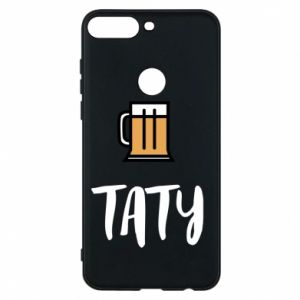 Phone case for Huawei Y7 Prime 2018 Daddy and beer