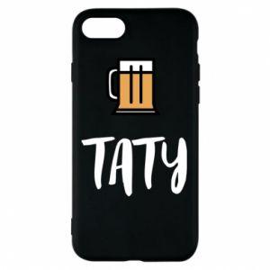 Etui na iPhone 7 Tata i piwo