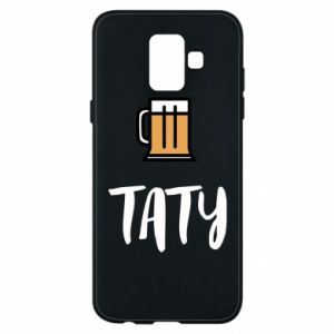 Phone case for Samsung A6 2018 Daddy and beer